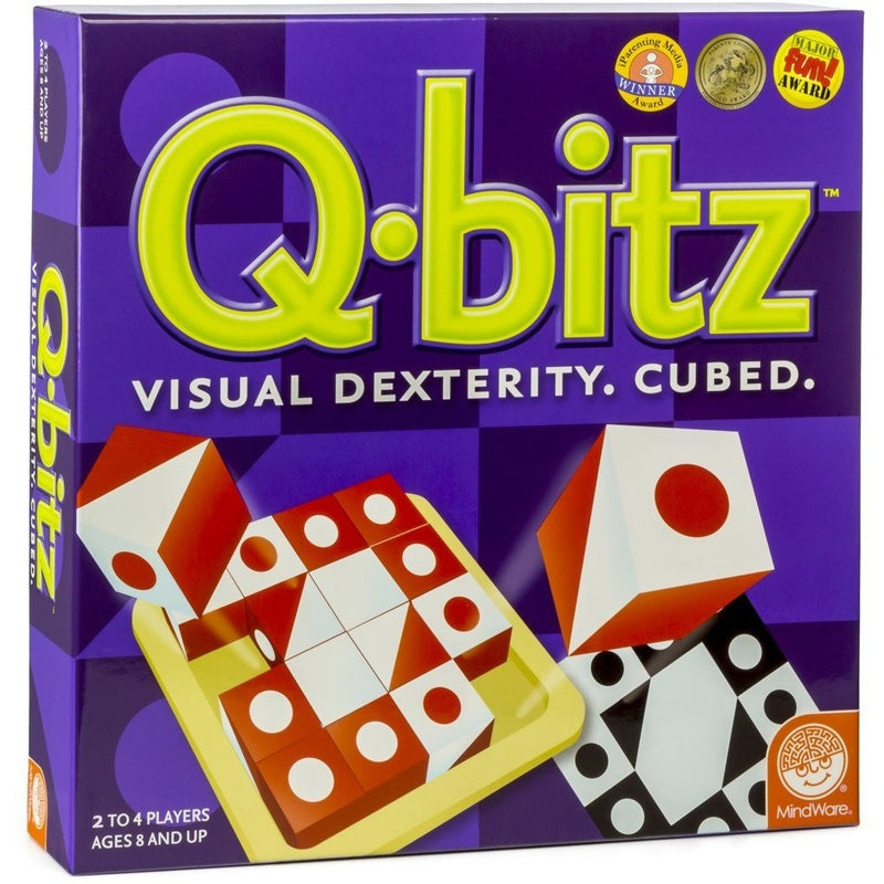 MindWare Q-bitz - Brain Teasers and Strategy - Anglo Dutch Pools and Toys