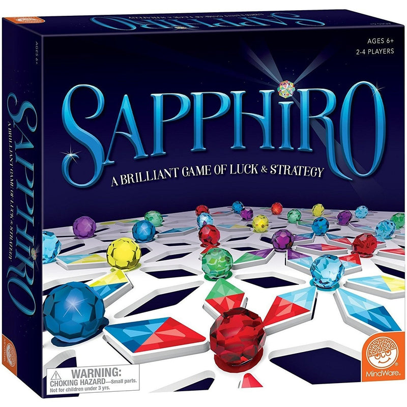 Brain Teasers And Strategy - MindWare Sapphiro Game
