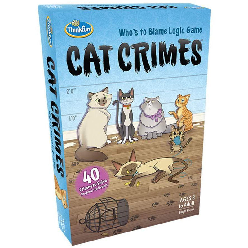 Brain Teasers And Strategy - ThinkFun Cat Crimes