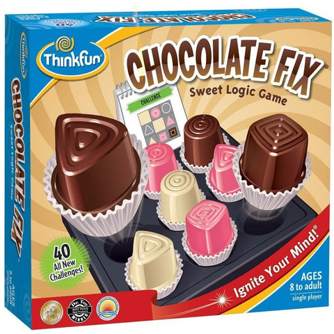 ThinkFun Chocolate Fix - Brain Teasers and Strategy - Anglo Dutch Pools and Toys