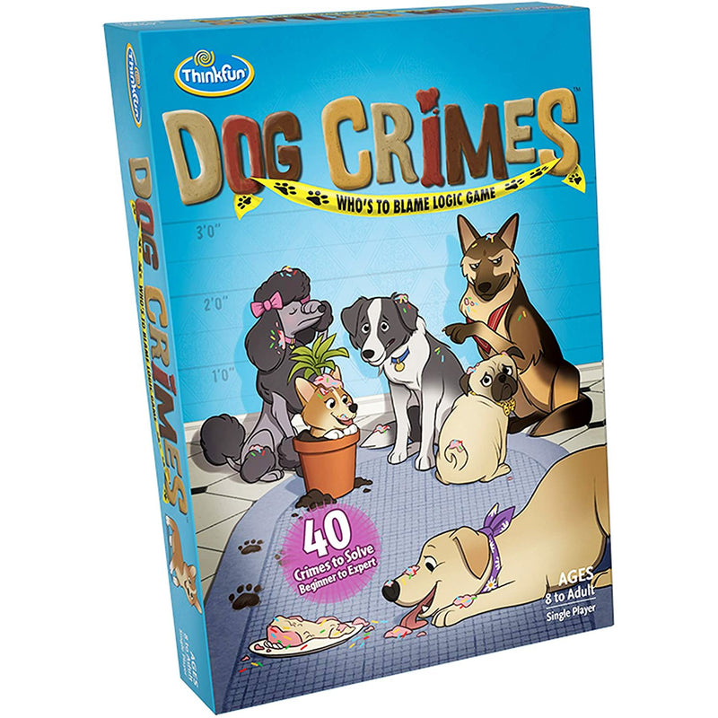 Brain Teasers And Strategy - ThinkFun Dog Crimes