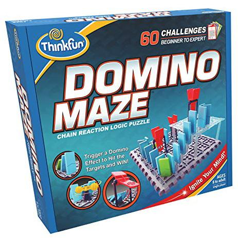 Brain Teasers And Strategy - ThinkFun Domino Maze