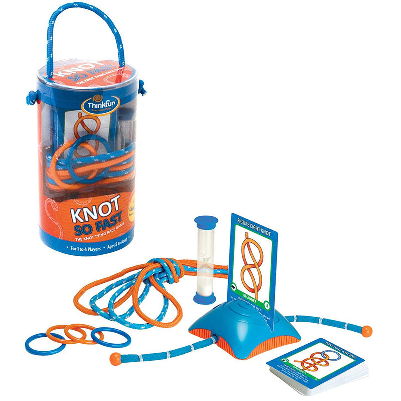 Brain Teasers And Strategy - ThinkFun Knot So Fast Game