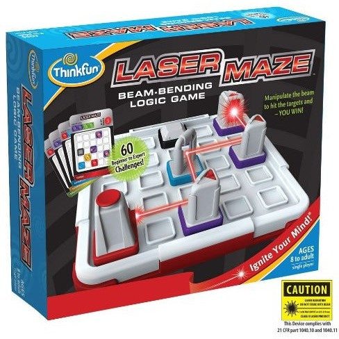 ThinkFun Laser Maze - Brain Teasers and Strategy - Anglo Dutch Pools and Toys