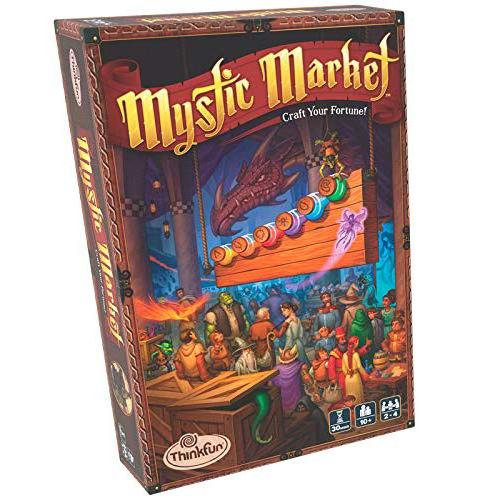 Brain Teasers And Strategy - ThinkFun Mystic Market Game