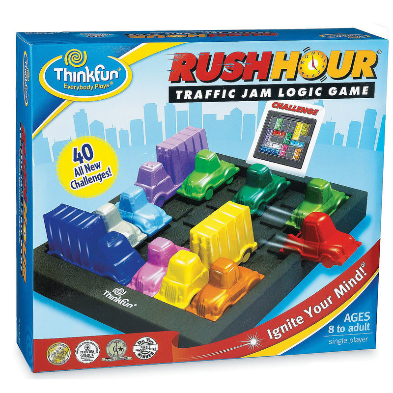 Brain Teasers And Strategy - ThinkFun Rush Hour