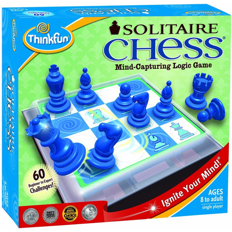 ThinkFun Solitaire Chess- - Anglo Dutch Pools & Toys  - 1