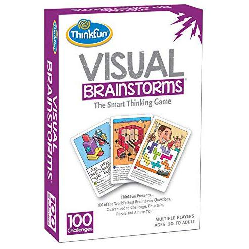 Brain Teasers And Strategy - ThinkFun Visual Brainstorms