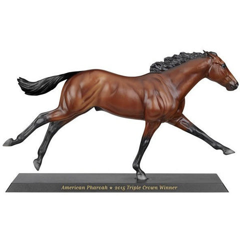 Breyer American Pharoah Horse- 2015 Triple Crown Winner- - Anglo Dutch Pools & Toys
