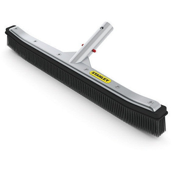 "Brushes And Scrubbers - Stanley DLX 18"" Aluminum Pool Brush"