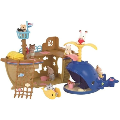 Calico Critters Adventure Treasure Ship- - Anglo Dutch Pools & Toys  - 1