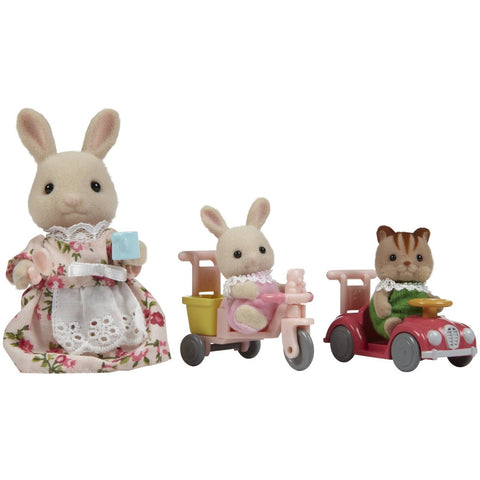 Calico Critters Apple & Jake's Ride 'n Play- - Anglo Dutch Pools & Toys  - 1