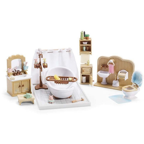 Calico Critters Deluxe Bathroom Set- - Anglo Dutch Pools & Toys  - 1