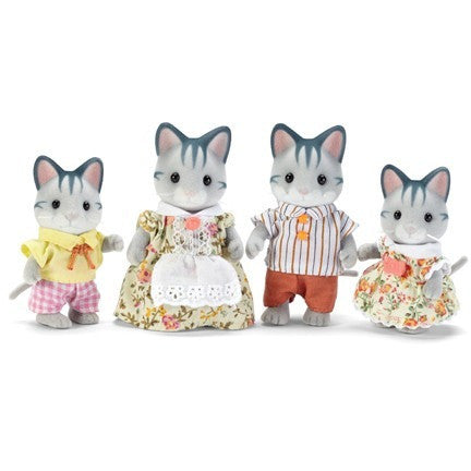 Calico Critters Fisher Cat Family- - Anglo Dutch Pools & Toys  - 1