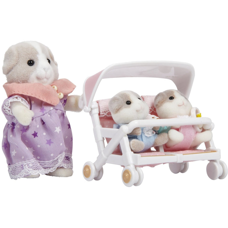 Calico Critters Patty and Paden's Double Stroller Set - Calico Critters - Anglo Dutch Pools and Toys