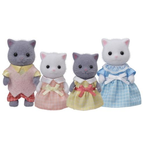 Calico Critters - Calico Critters Persian Cat Family