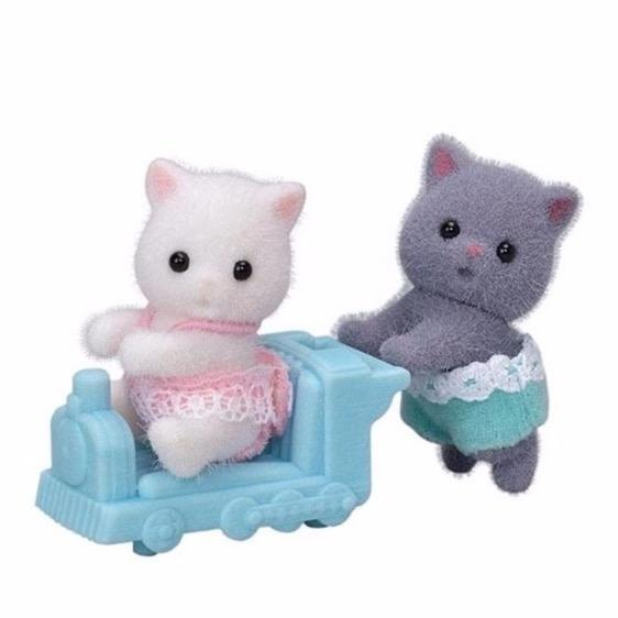 Calico Critters - Calico Critters Persian Cat Twins