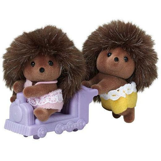 Calico Critters - Calico Critters Pickleweeds Hedgehog Twins