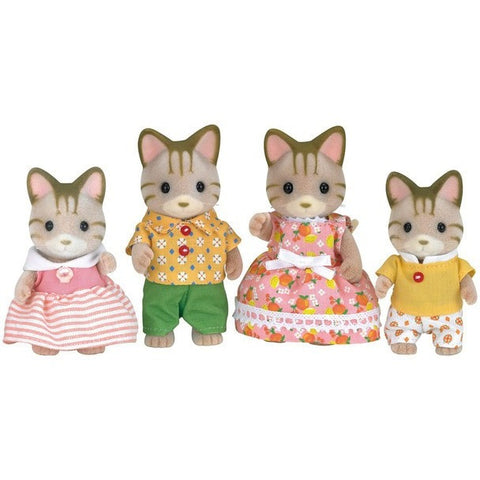 Calico Critters Sandy Cat Family - Calico Critters - Anglo Dutch Pools and Toys