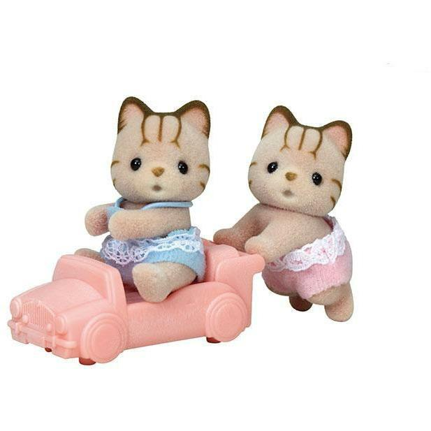 Calico Critters - Calico Critters Sandy Cat Twins