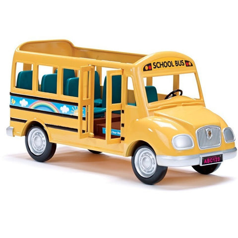 Calico Critters School Bus- - Anglo Dutch Pools & Toys  - 1