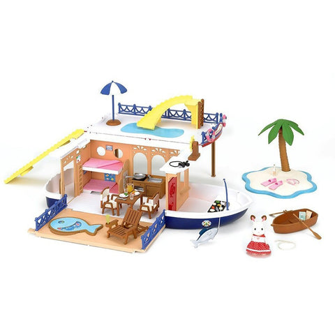 Calico Critters Seaside Cruiser Houseboat - Calico Critters - Anglo Dutch Pools and Toys