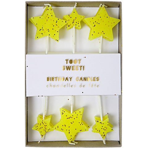 Meri Meri Toot Sweet Star Candles - Candles - Anglo Dutch Pools and Toys