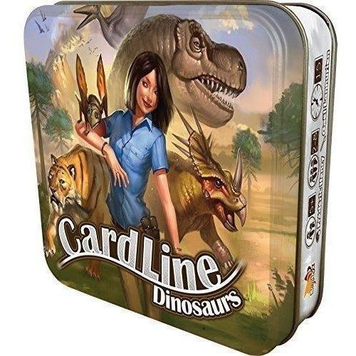 Card And Travel Games - Cardline Dinosaurs Game