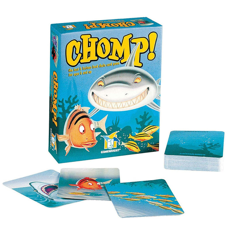 Card And Travel Games - Chomp!