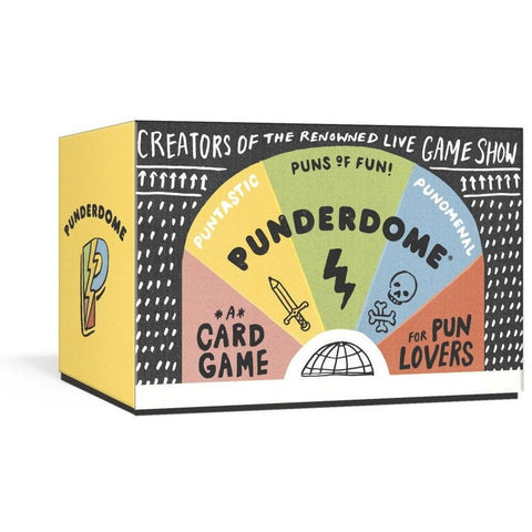 Punderdome: A Card Game for Pun Lovers - Party and Social Games - Anglo Dutch Pools and Toys