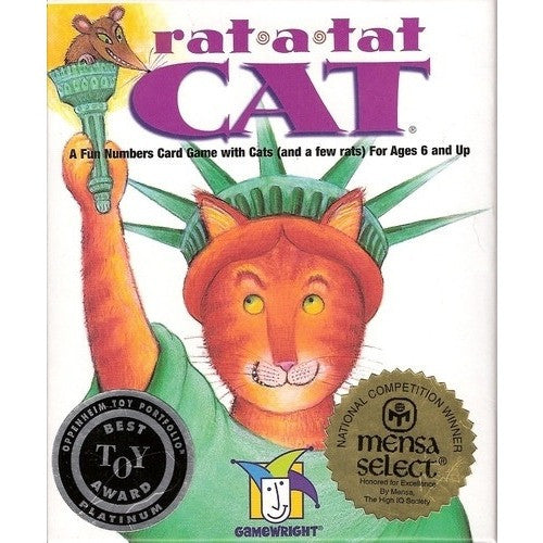Rat-A-Tat-Cat - Card and Travel Games - Anglo Dutch Pools and Toys