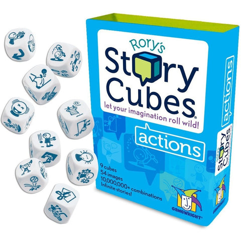 Rory's Story Cubes - Actions - Card and Travel Games - Anglo Dutch Pools and Toys
