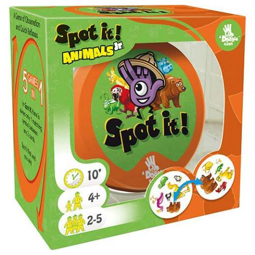 Spot It Jr.! Animals - Card and Travel Games - Anglo Dutch Pools and Toys