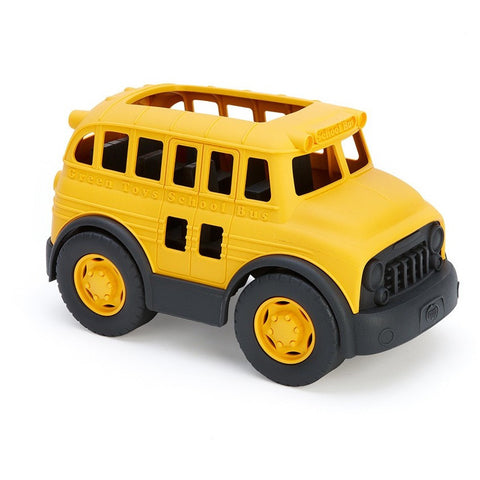 Green Toys School Bus - Commercial and Farm Vehicles - Anglo Dutch Pools and Toys