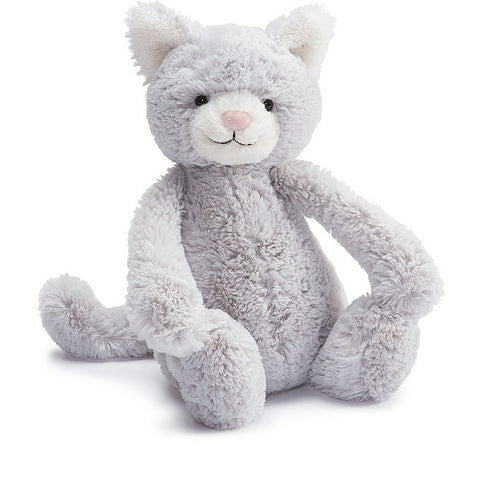 "Jellycat Bashful Kitty- Medium- 12""- Anglo Dutch Pools & Toys  - 1"