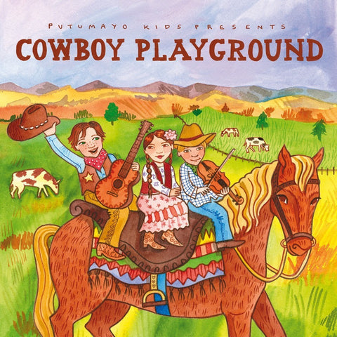 CD's - Putumayo Cowboy Playground CD