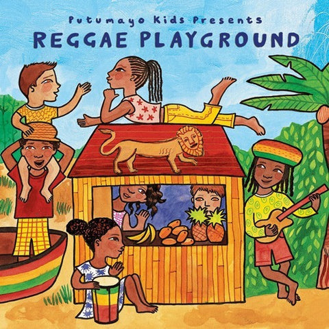 CD's - Putumayo Reggae Playground CD