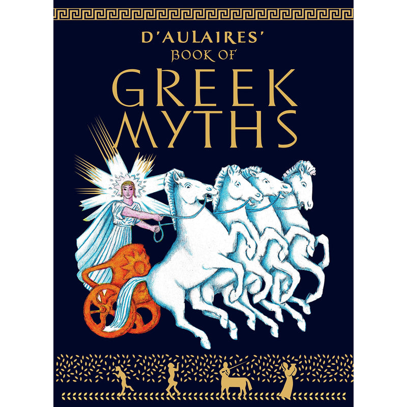 Chapter Books - D'Aulaires' Book Of Greek Myths