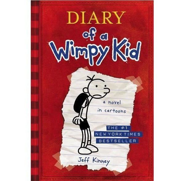 Diary of a Wimpy Kid (Diary of a Wimpy Kid #1) - Chapter Books - Anglo Dutch Pools and Toys