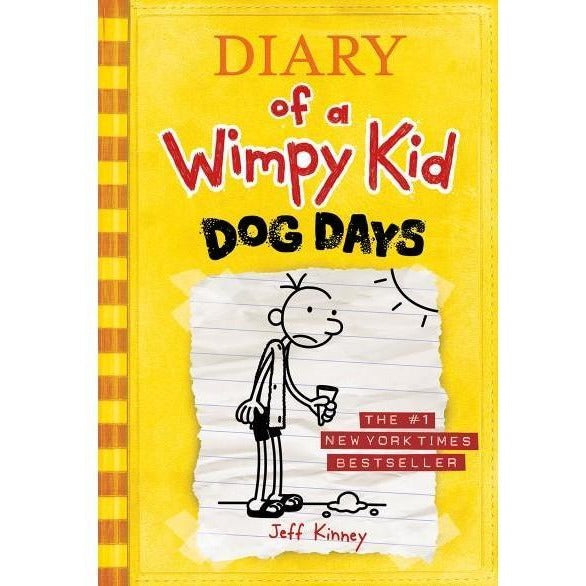 Dog Days (Diary of a Wimpy Kid #4) - Chapter Books - Anglo Dutch Pools and Toys