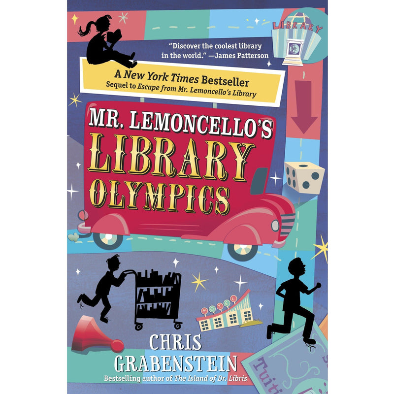 Chapter Books - Mr. Lemoncello's Library Olympics