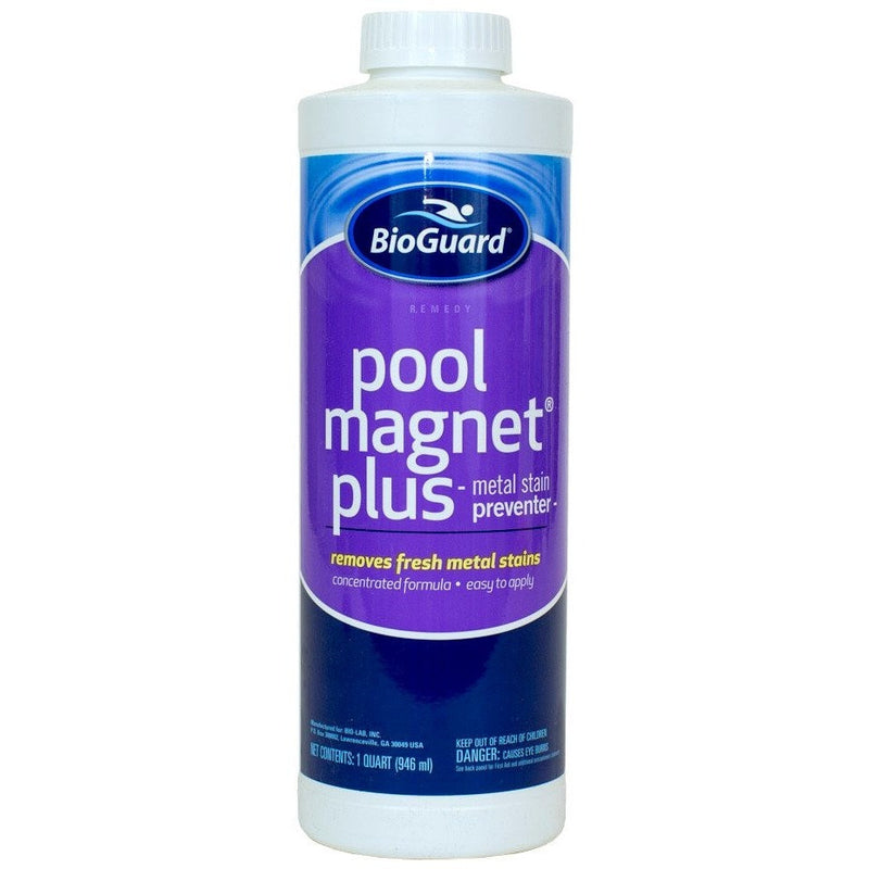 BioGuard Pool Magnet Plus (1 qt)- - Anglo Dutch Pools & Toys