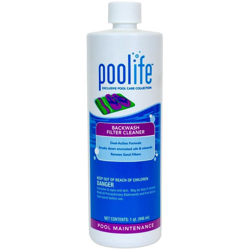 Cleaning And Problem Solvers - Poolife Backwash Filter Cleaner (1 Qt)