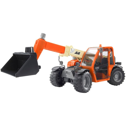 Bruder JLG 2505 Telehandler- - Anglo Dutch Pools & Toys  - 1