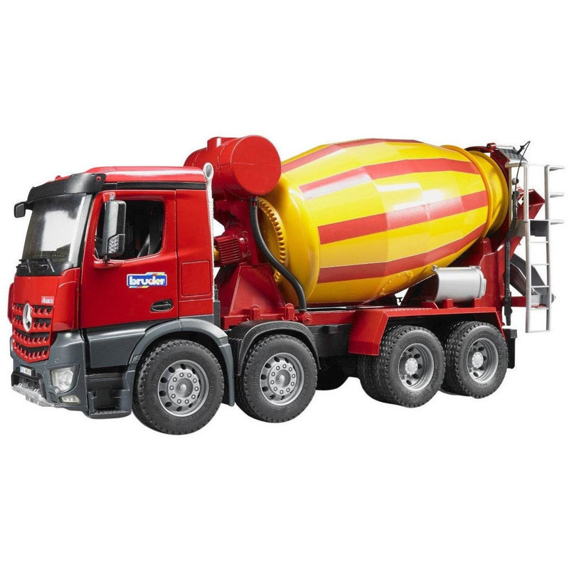 Bruder MB Arocs Cement Mixer- - Anglo Dutch Pools & Toys  - 1