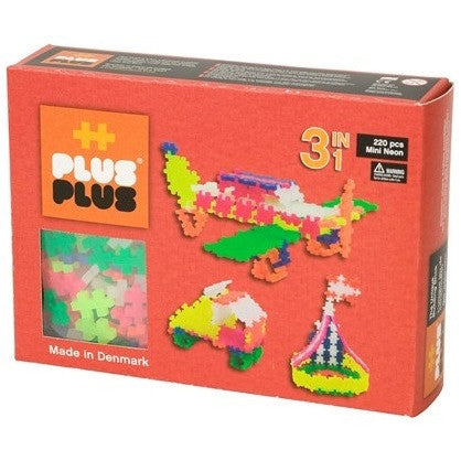 Plus-Plus Mini Neon 220 3-in-1 - Other Building Sets - Anglo Dutch Pools and Toys