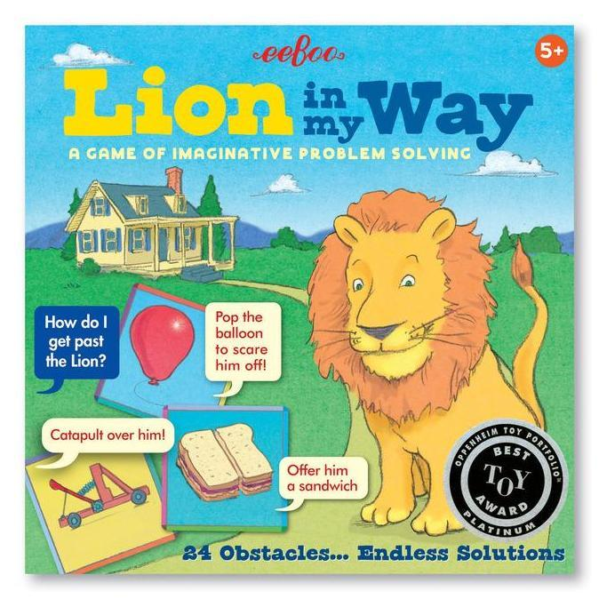 Cooperative Games - EeBoo Lion In My Way Game