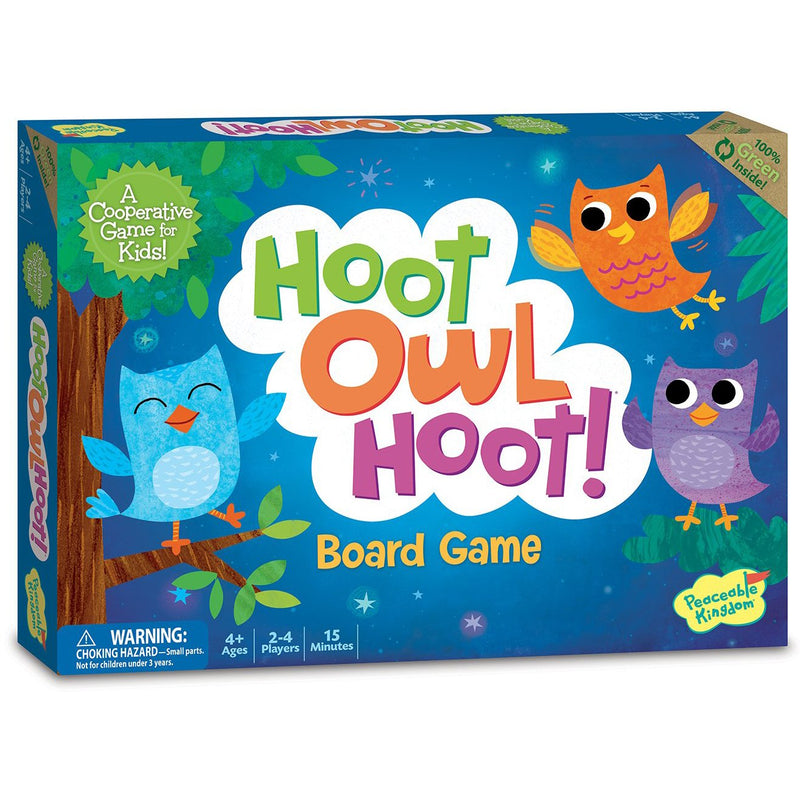 Cooperative Games - Hoot Owl Hoot Game
