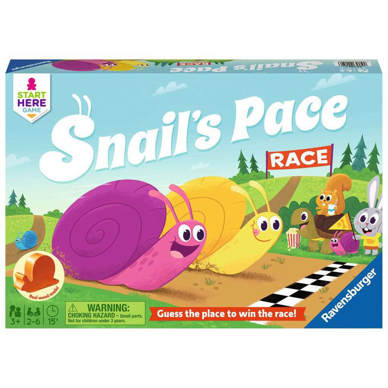 Cooperative Games - Ravensburger Snail's Pace Race