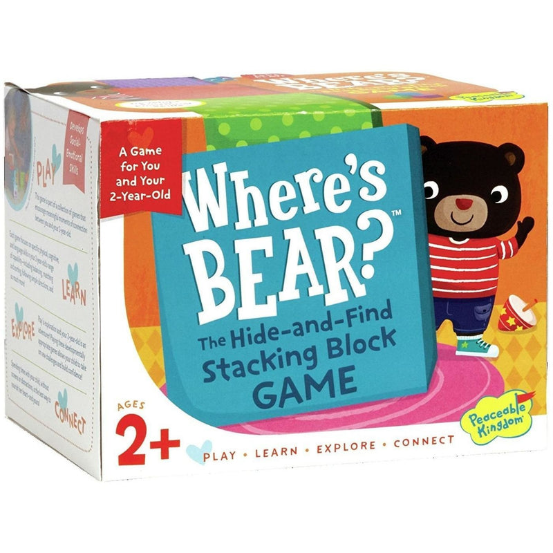 Cooperative Games - Where's Bear Game